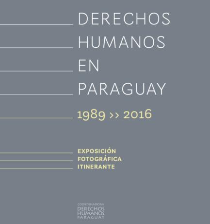 Catálogo de la muestra fotográfica sobre Derechos Humanos