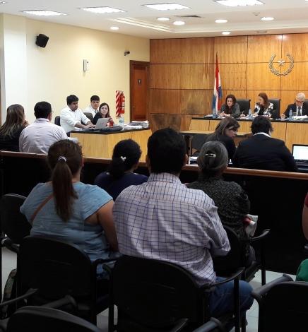 Juicio Oral y Público del caso de los adolescentes asesinados en el Centro Educativo Itaugua