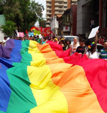 """14º Marcha LGTBI: """"Frente al Terrorismo de Estado, Dignidad y Resistencia"""""""
