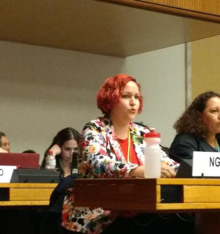 Grupo Impulsor del Informe Sombra de Paraguay, ante el Comité CEDAW