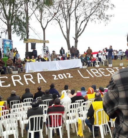 Curuguaty: A seis años de la Masacre en Marina Kue seguimos reclamando Tierra, Justicia y Libertad