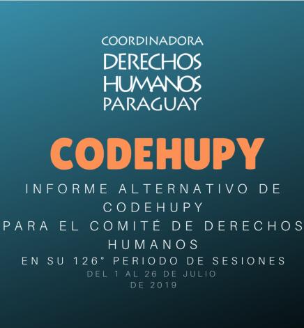 Informe Alternativo de Codehupy
