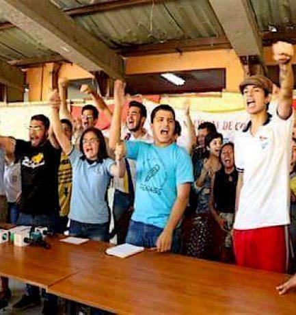 Ernesto Ojeda: Dirigente estudiantil se enfrenta a pena privativa de libertad por reclamar mejoras en materia de educación