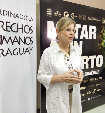 "Ana Martini: ""Matar a un muerto"" nos plantea mirar o no las injusticias"