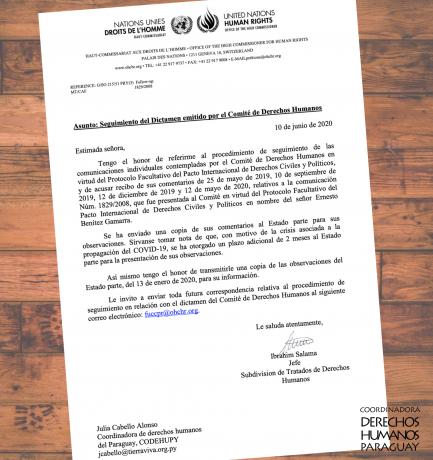 Naciones Unidas pide informe por incumplimiento en caso de tortura