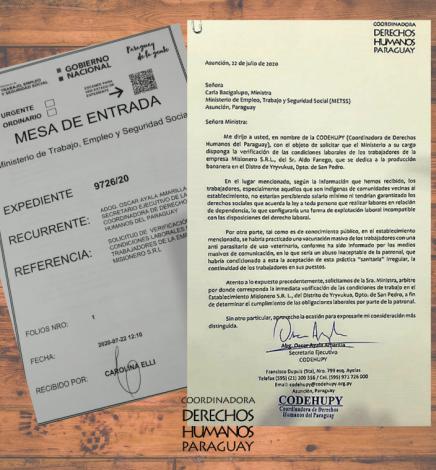 CODEHUPY solicitó que Ministerio fiscalice empresa vinculada al caso de vacunación de indígenas con antiparasitario para animales