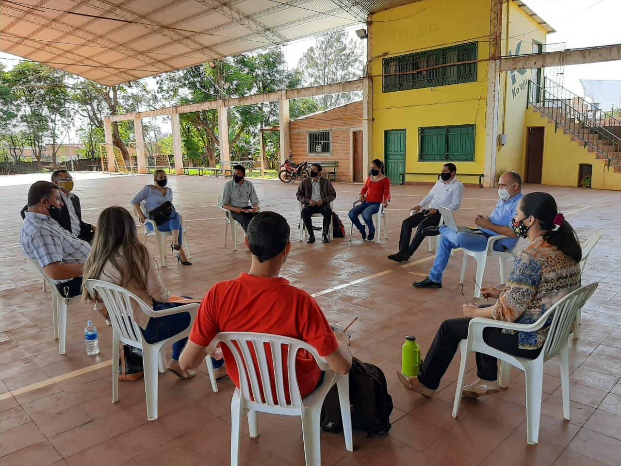 Red de abogados y abogadas Santa Rosa del Aguaray