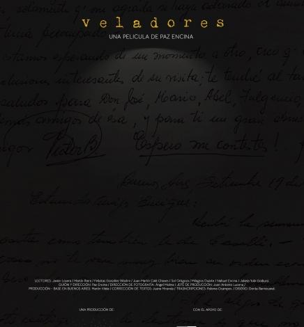 """Paz Encina presentará su película """"Veladores"""""""