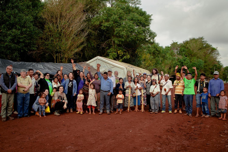 Comunidad indígena Tekoha Sauce, finalista en la categoría Premio Dignidad.