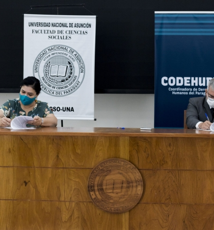 Firman acuerdo para desarrollar una cátedra sobre derechos humanos abierta a todo público