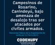 Codehupy presentó querella adhesiva por el asesinato del indígena Lorenzo Silva Arce