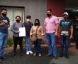 Campesinos denuncian ataque de civiles armados y amenaza de desalojo por parte de la policía