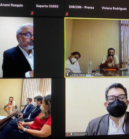 La Codehupy y la Comisión de Derechos Humanos del Senado monitorean avances en cuestiones de reparación en el caso de Ernesto Benítez